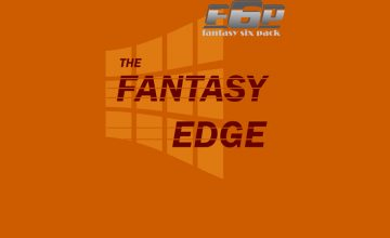 The Fantasy Edge Week 4