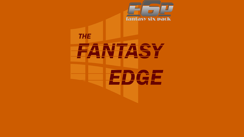 The Fantasy Edge Week 13: Crunch Time