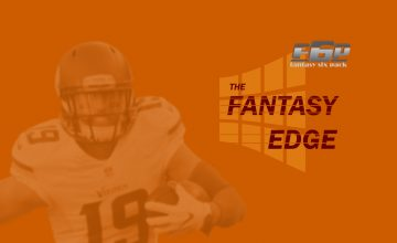 The Fantasy Edge Week 16: All Is Calm