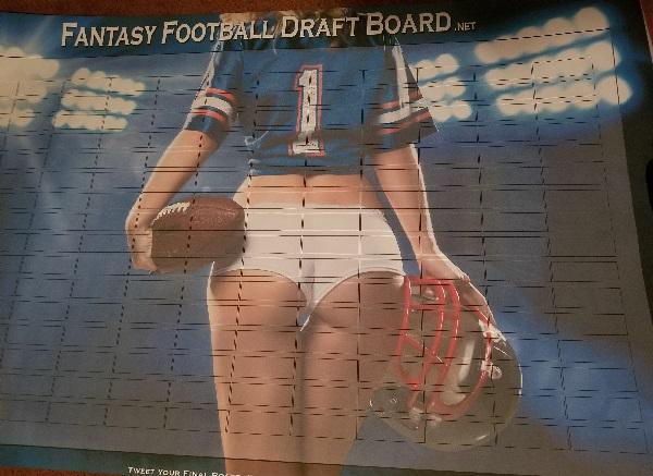fantasy football live draft