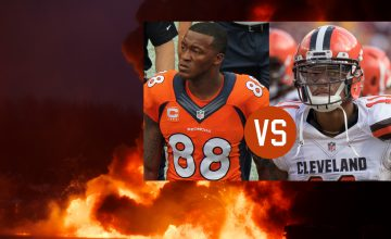 Demaryius Thomas v Terrelle Pryor