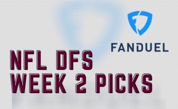 2020 NFL DFS Week 2 FanDuel Picks
